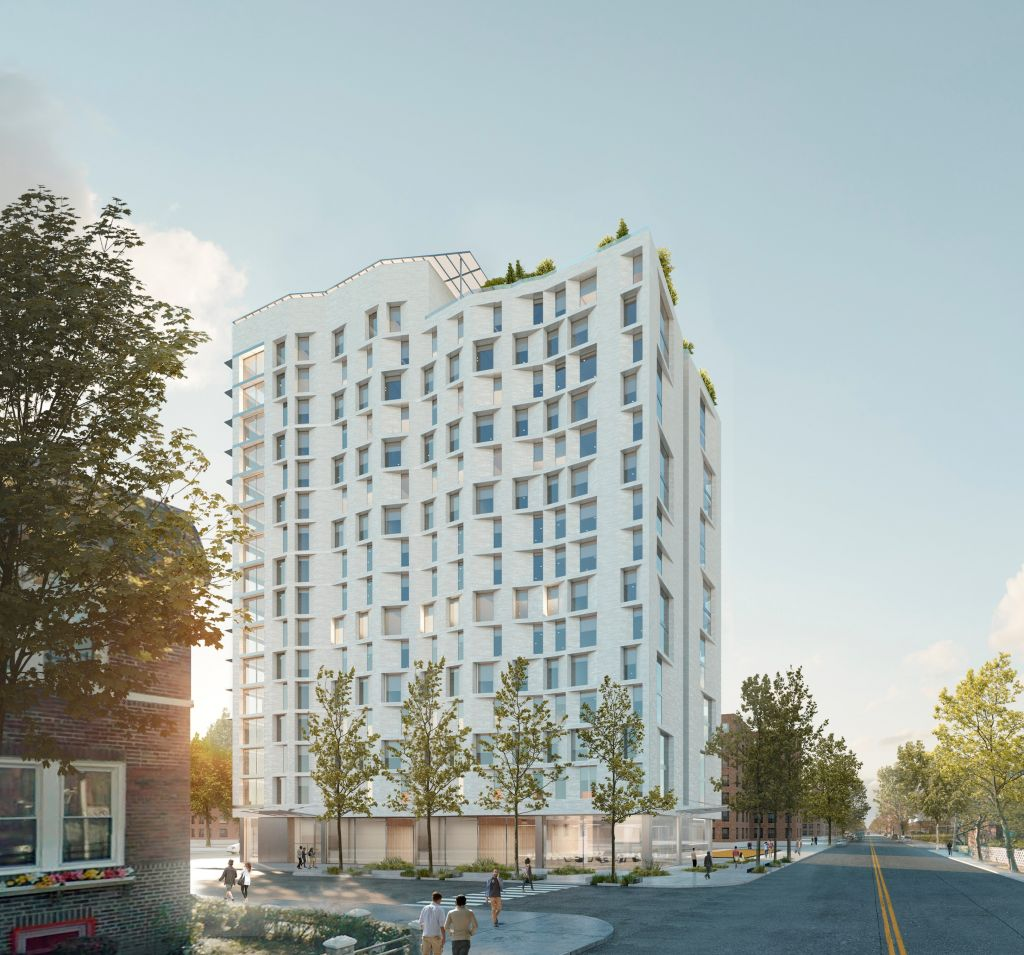 Affordable Appartments: 16 Story, 200 Unit Senior Affordable Housing Building